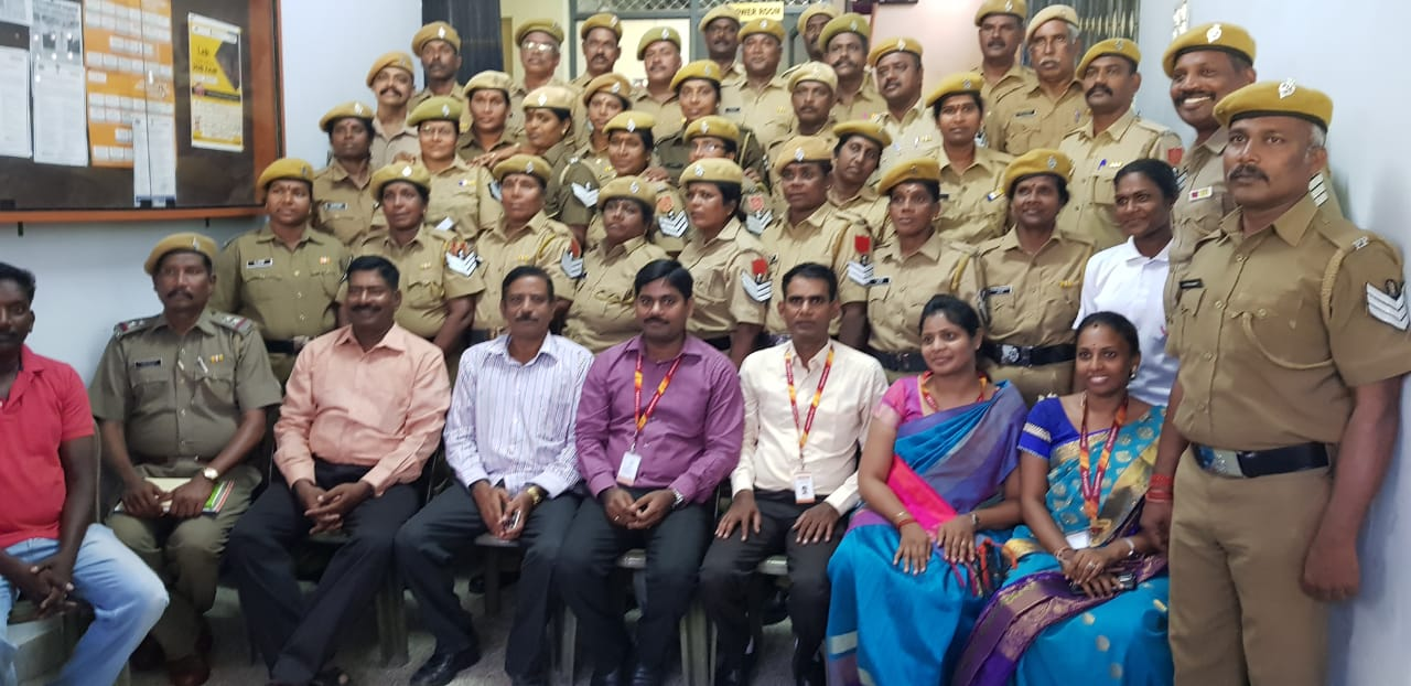 e-Literacy Training for Police Personnel Images